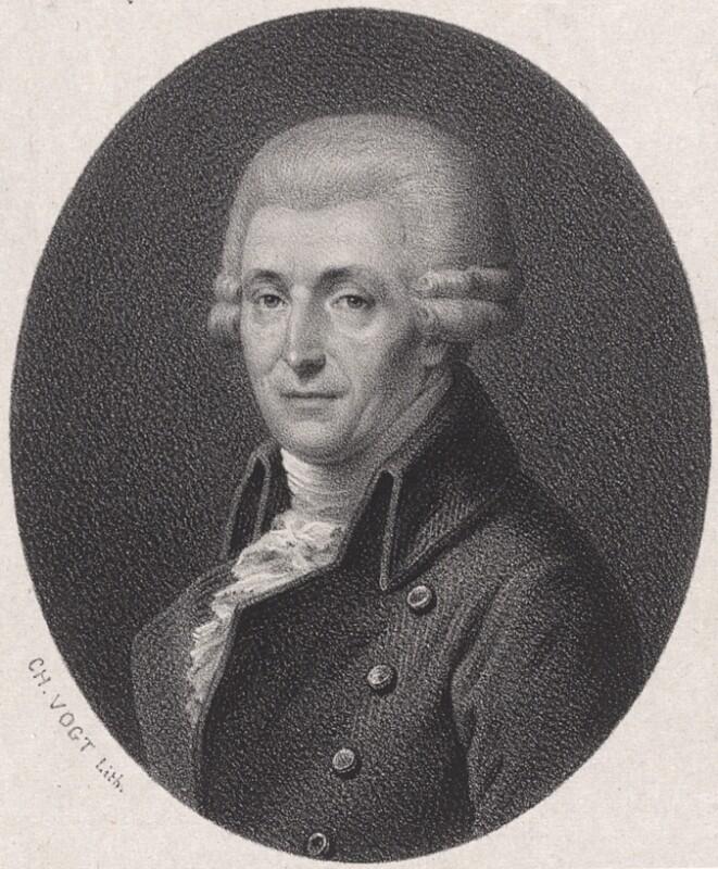 Bildnis Joseph Haydn (1732 - 1809)