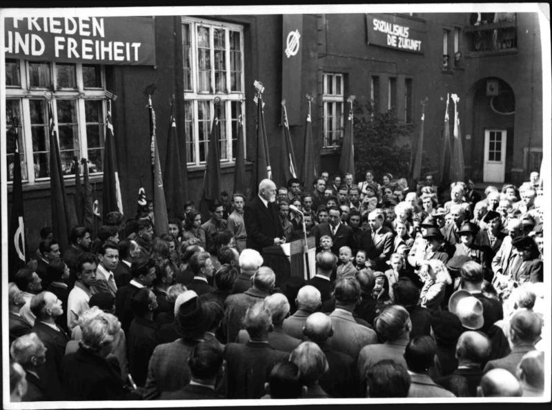 Ansprache Bürgermeister Körner von Blaha, Franz