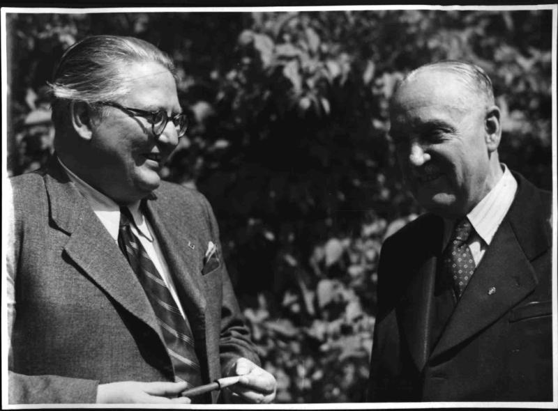 Pittermann und Schärf von Blaha, Franz