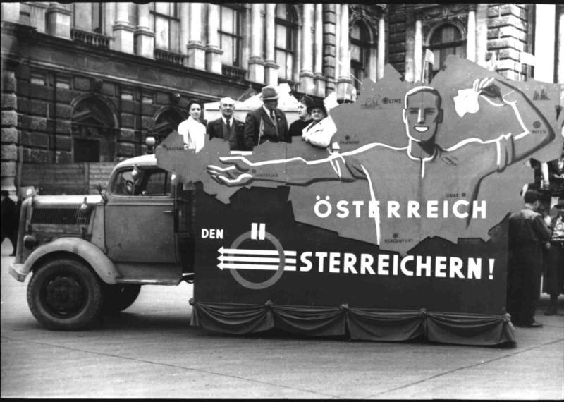 1. Maifeier der Wiener SPÖ von Blaha, Franz