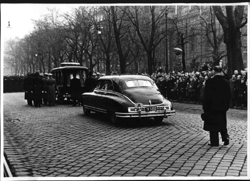 Staatsbegräbnis Renner von Blaha, Franz