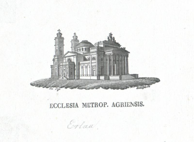 Ecclesia Metrop. Agriensis von Höfel, Blasius