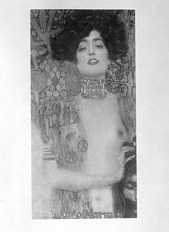 Judith und Holofernes von Klimt, Gustav
