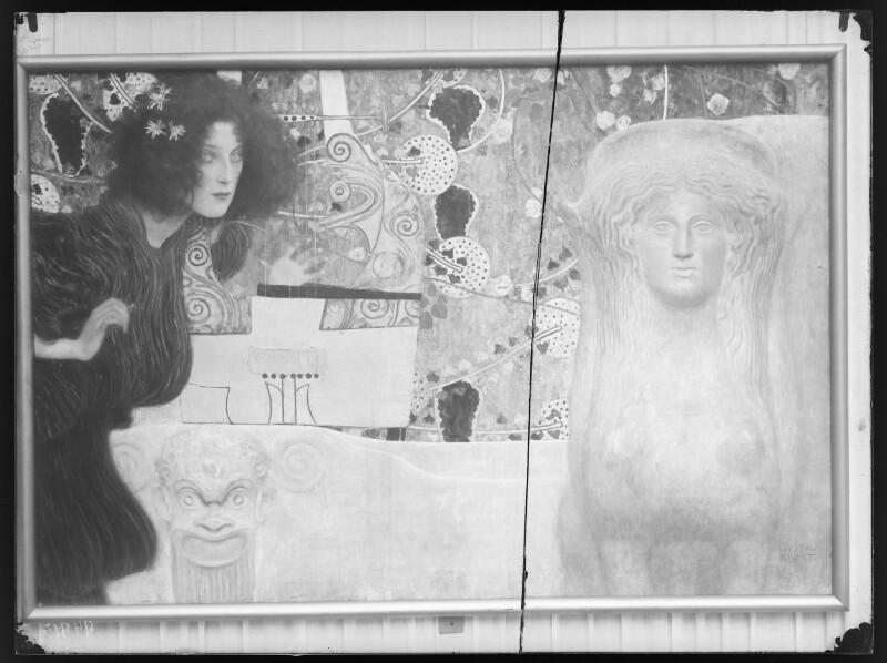 """""""Die Musik"""" von Klimt, Gustav"""