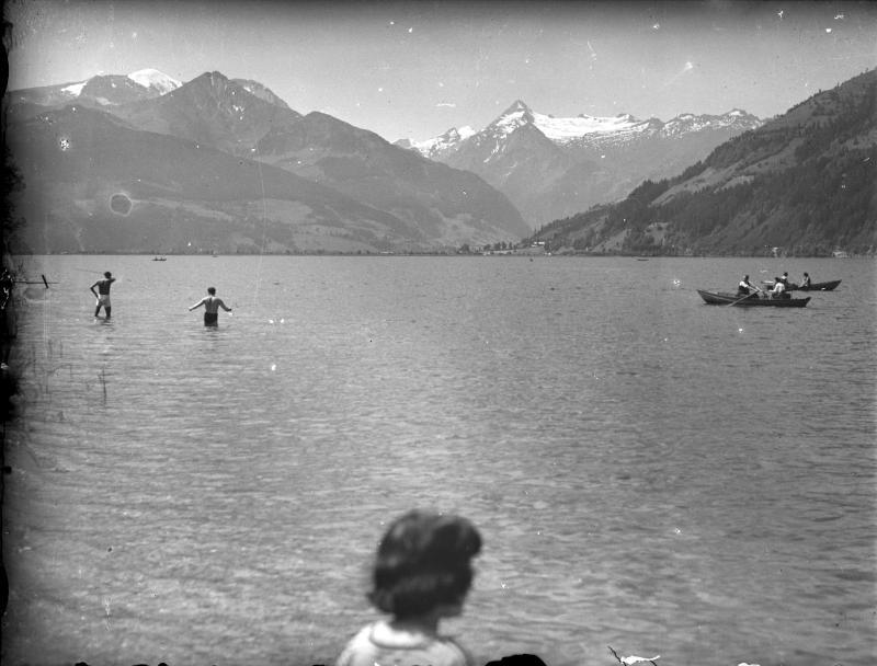 Kitzsteinhorn vom Zeller See von Piringer, Anton