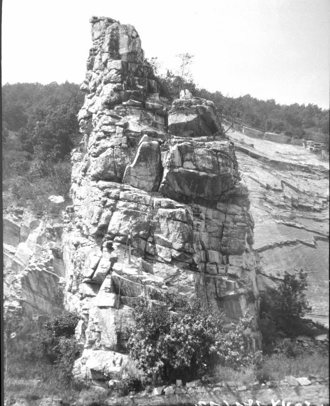 Teufelsmauer in der Wachau von Götzinger, Gustav