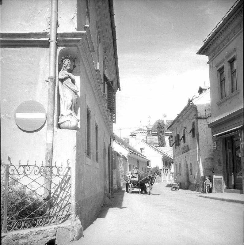 Straßenbild in Spittal an der Drau von Grath, Anton