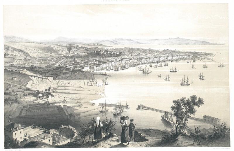Trieste. Vue prise au-dessus du Lazaret Neuf von Schultz, C.