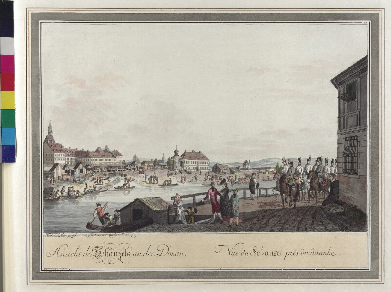 Wien: Am Schanzel, 1779. von Ziegler, Johann