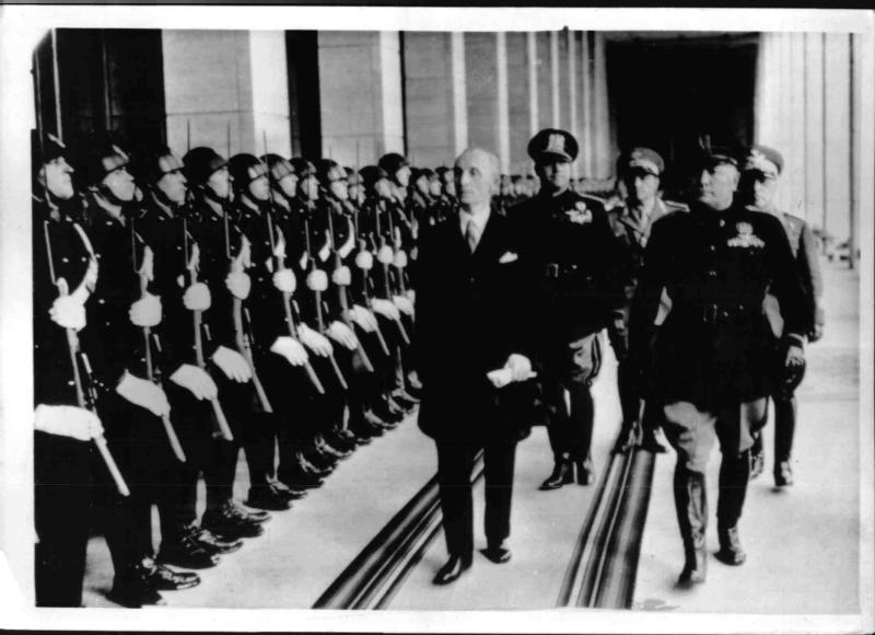 Besuch des ungarischen Ministerpräsidenten Bardossy in Rom von Weltbild