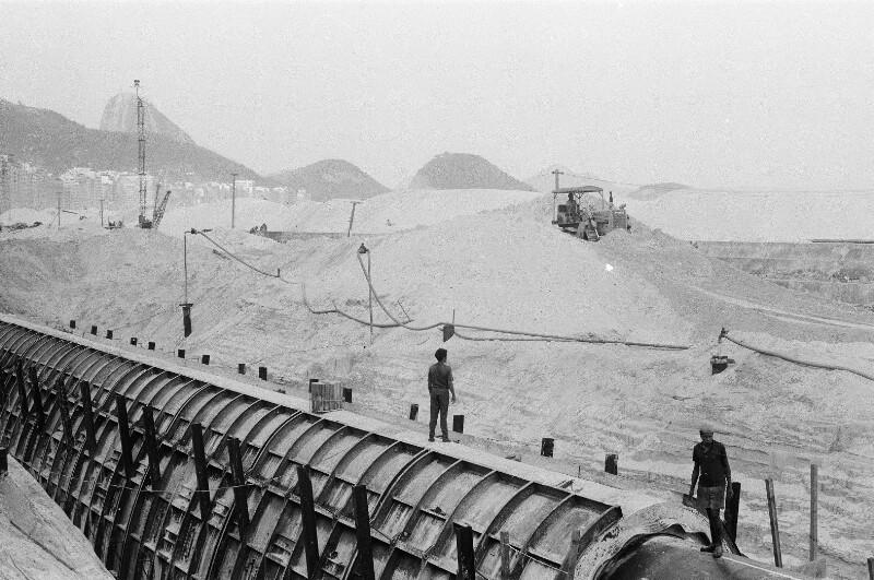 Kanalisation-Bauarbeiten von Heydecker, Joe J.