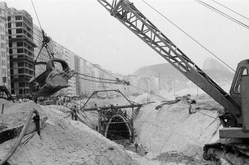 Kanalisation-Bauarbeiten