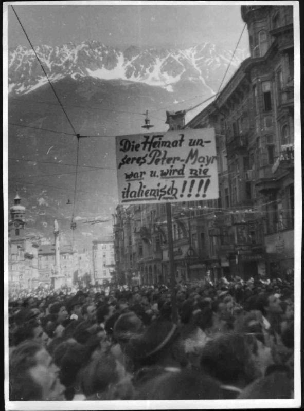 Demonstration für Südtirol