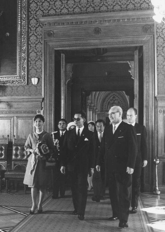Visite des thailändischen Königspaares Bhumibol und Sirikit von Pressestelle der Stadt Wien