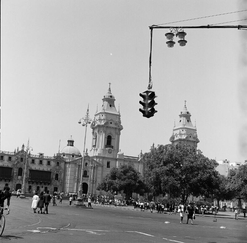 Kathedrale von Lima von Heydecker, Joe J.