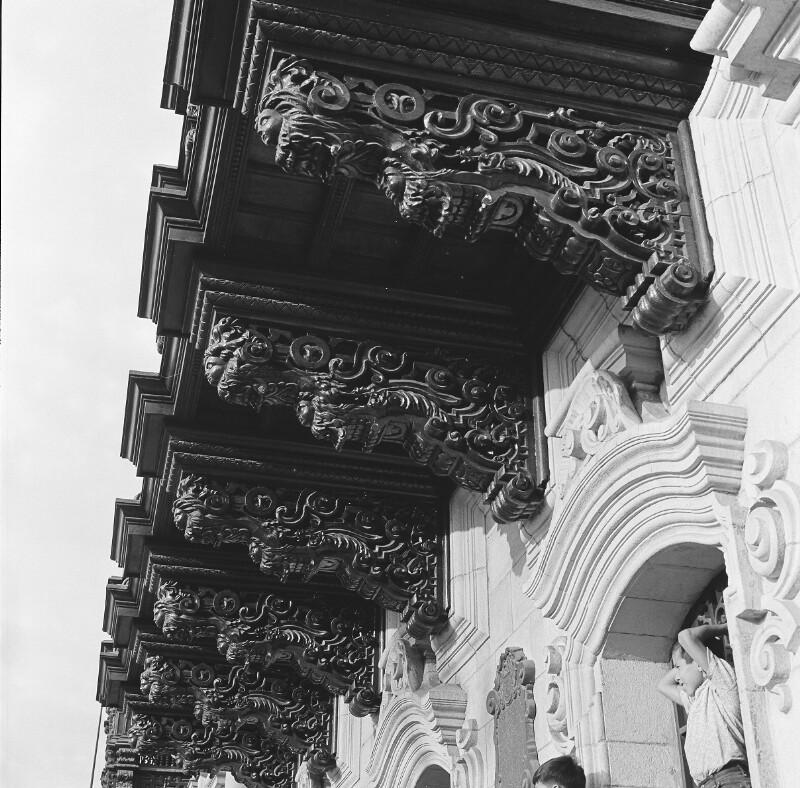 Holzerker der Kathedrale von Lima von Heydecker, Joe J.
