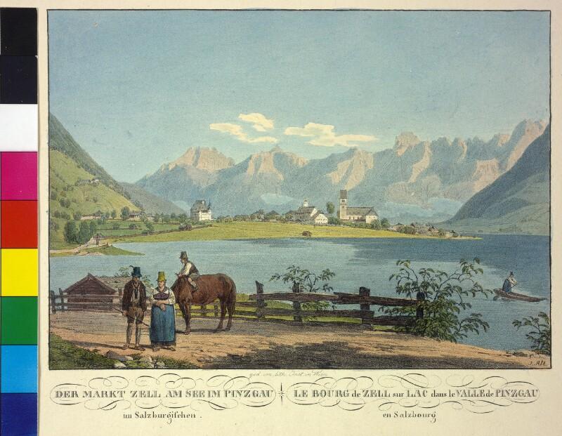 Zell am See von Alt, Jakob