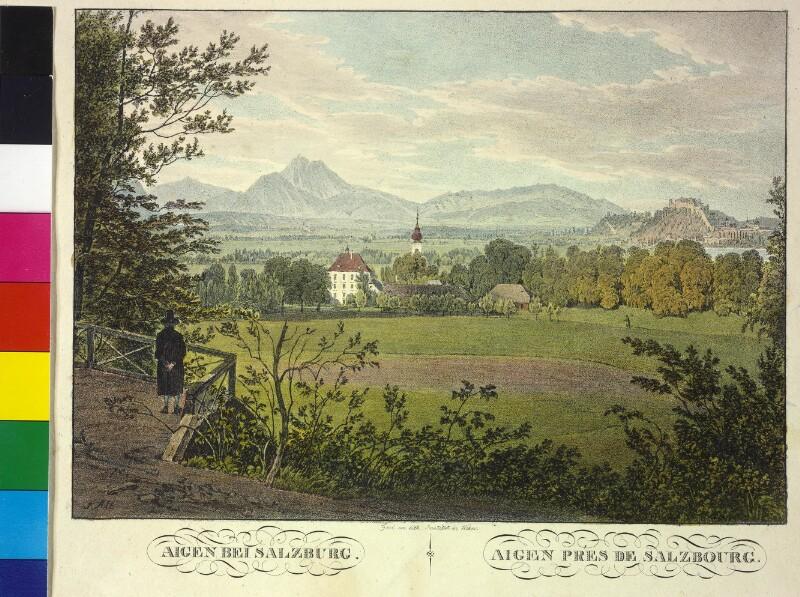 Aigen bei Salzburg von Alt, Jakob