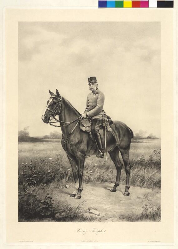 Franz Joseph I., Kaiser von Österreich von Scolik, Charles