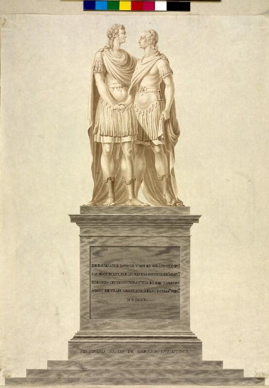 Kaiser Franz II.  und Zar Alexander I. von Russland von Geramb, Ferdinand Freiherr