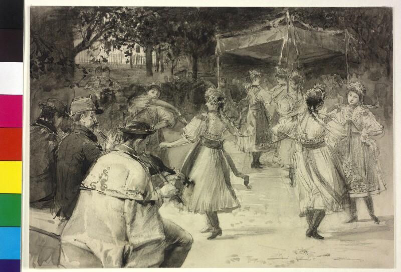 Altmährischer zeremonieller Tanz am Pfingstmontag: Královničky von Veith, Eduard