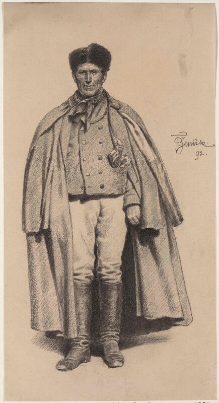 Bauer aus der Gegend von Pilsen von Ženíšek, František (1849)