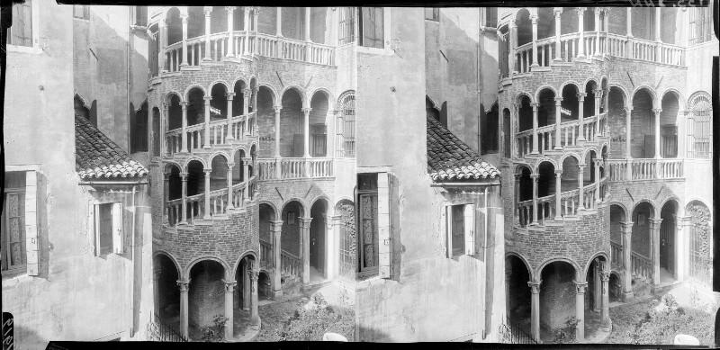 Palazzo Contarini dal Bovolo in Venedig