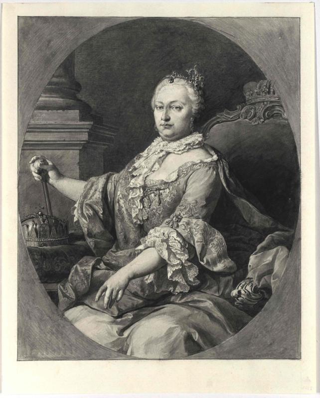 Kaiserin Maria Theresia von Berger, Julius Victor