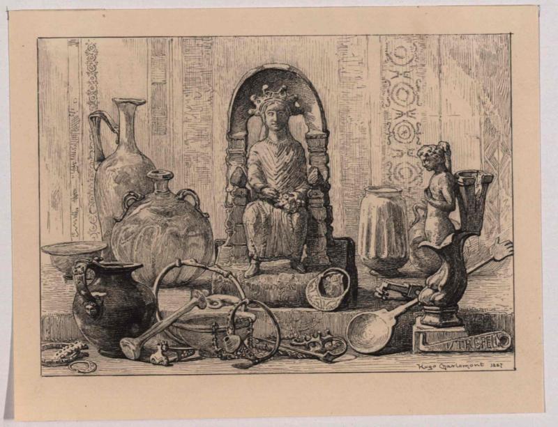 Römische Funde von Charlemont, Hugo