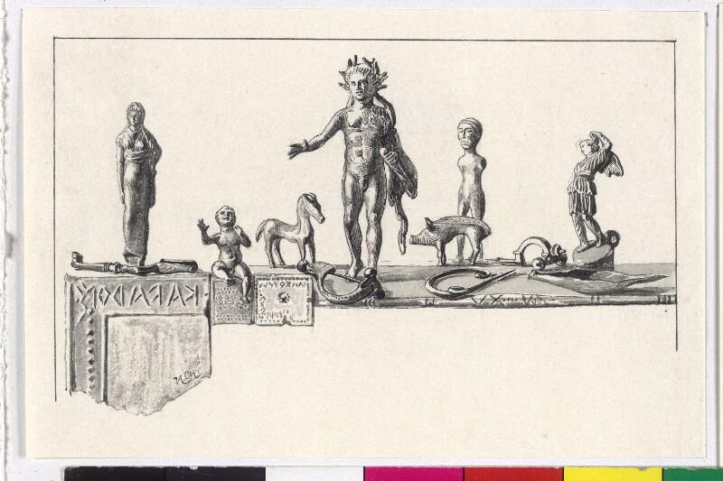 Römische Funde aus Gurina von Charlemont, Hugo