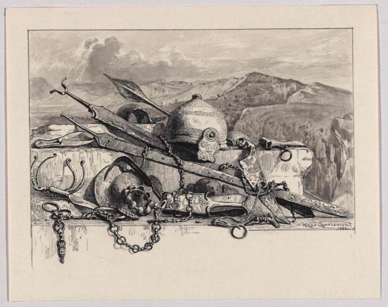 Gallische Waffen und Schmuckgegenstände von Charlemont, Hugo