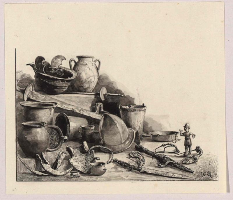 Fund von Idria (Idrija) von Charlemont, Hugo