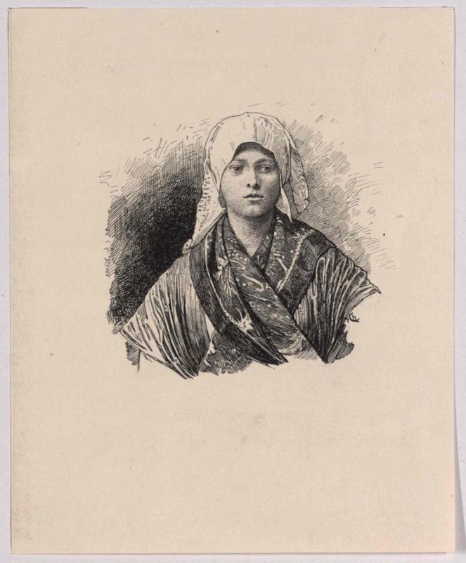 Typus einer Slowenien aus Istrien von Charlemont, Hugo