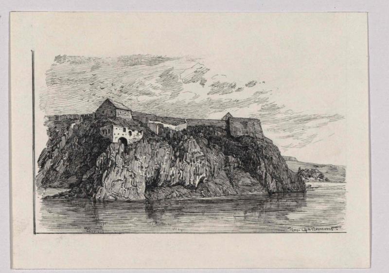 Der Vysehrad in Prag von Charlemont, Hugo