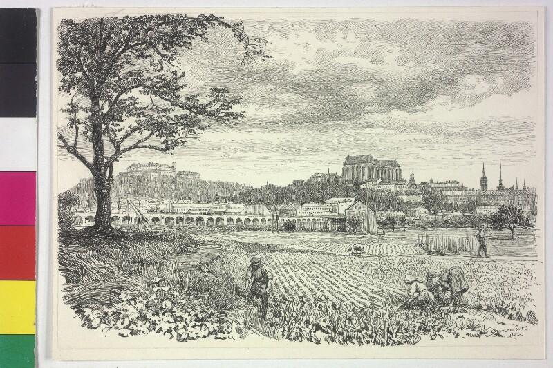Brünn von Süden gesehen von Charlemont, Hugo