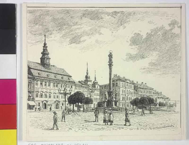 Der Stadtring in Iglau von Charlemont, Hugo