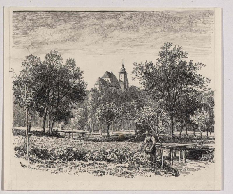 Das Heulostal bei Iglau von Charlemont, Hugo