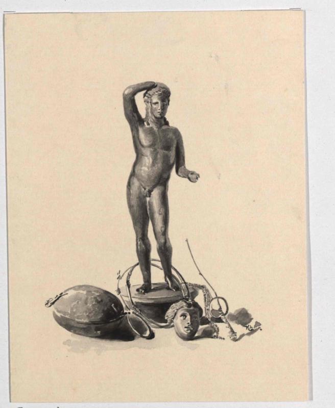 Römische Funde - Apollo, Gorgonenhaupt von Charlemont, Hugo