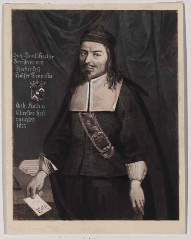 Johann Paul Hocher von König, Friedrich