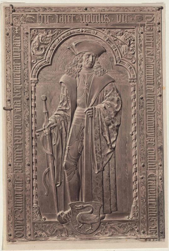 Grabmal des Peter Salomon in der Marienkirche in Krakau von Siegl, Karl Ritter von