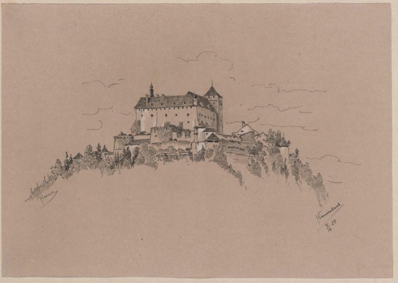 Schloss Krumbach  von Rosner, Karl