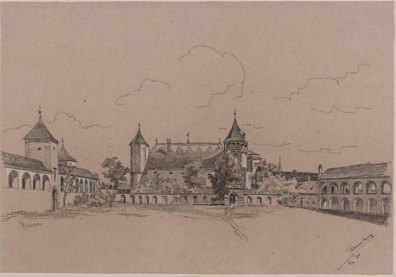 Schloss Rosenburg - Turnierhof von Rosner, Karl