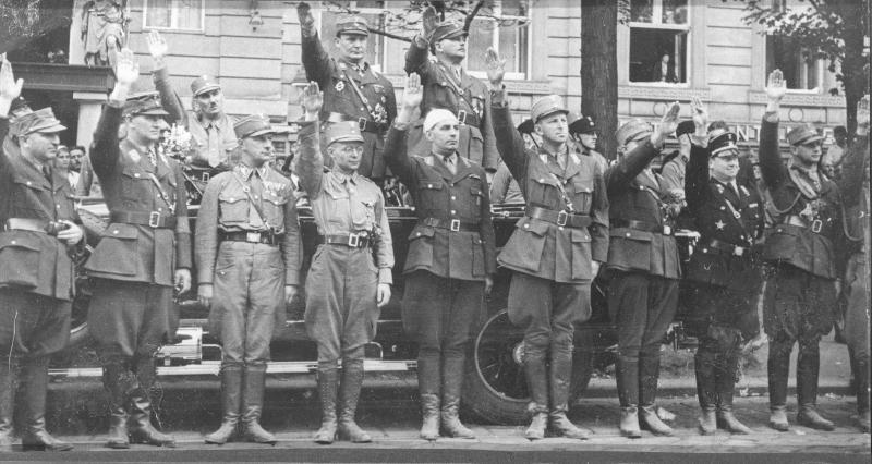 Nationalsozialistischer Gauparteitag in Wien 1932 von Rübelt, Lothar