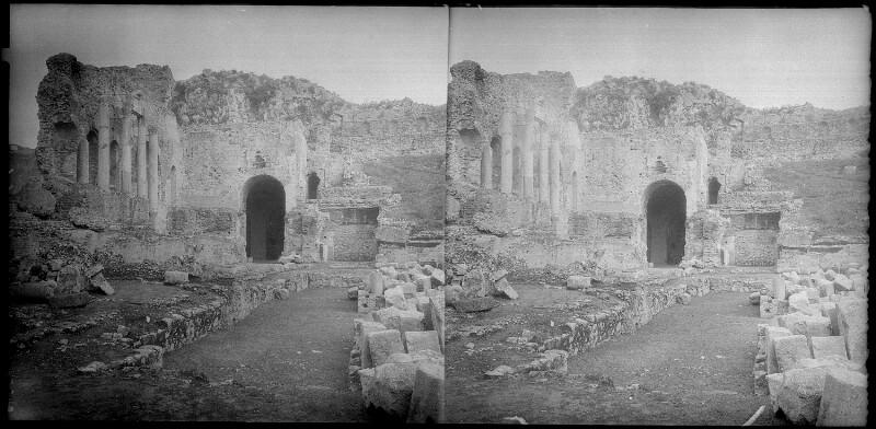 Antikes Theater in Taormina