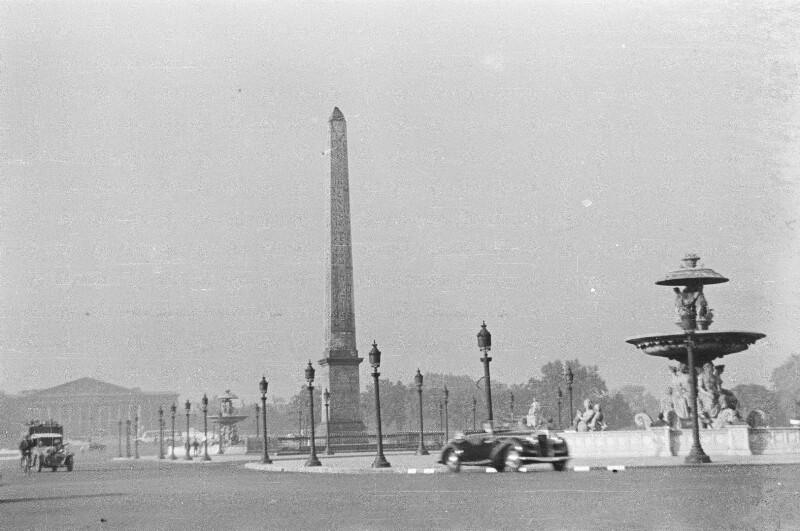 Place de la Concorde von Heydecker, Joe J.