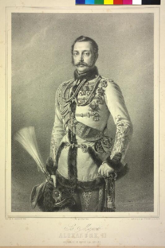 Alexander II., Kaiser von Rußland  von Smirnoff, Peter