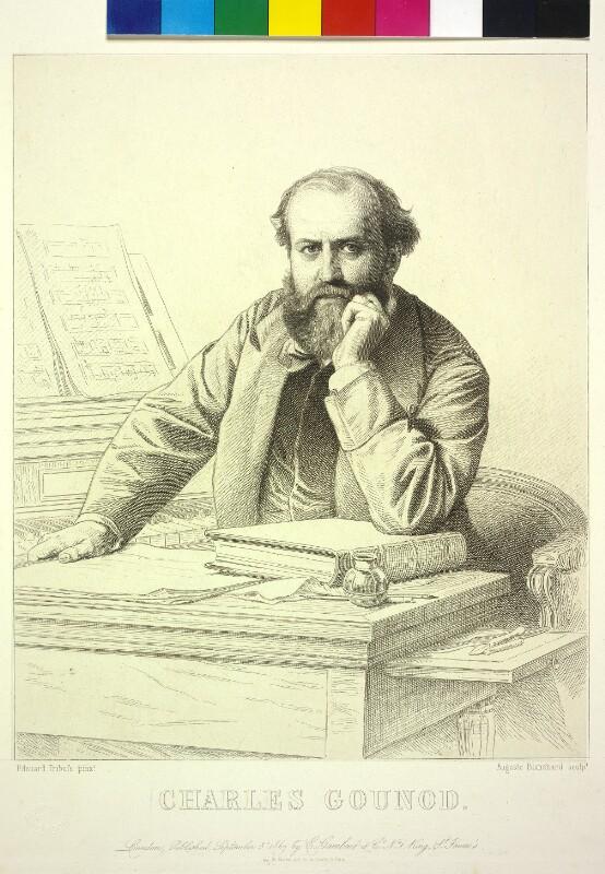 Charles Gounod von Blanchard, Auguste Thomas Marie
