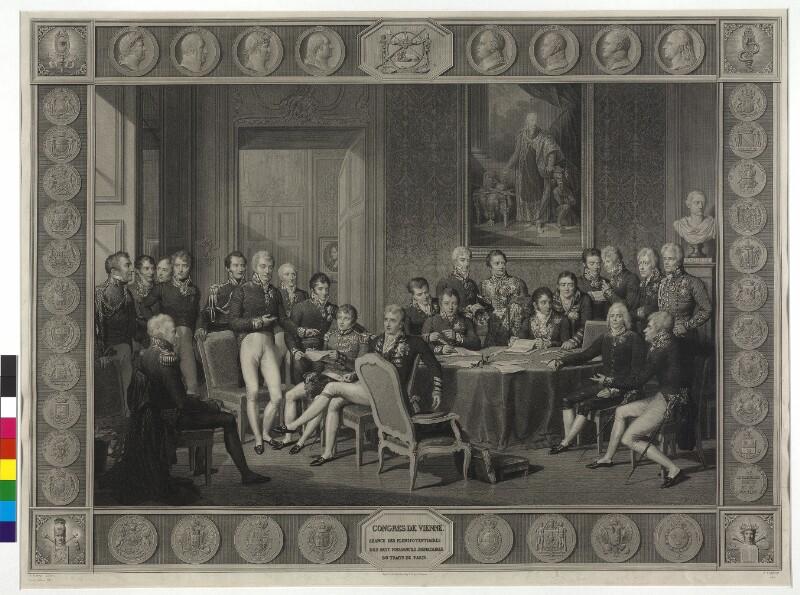 Wiener Kongreß 1814/1815 von Godefroy, Jean
