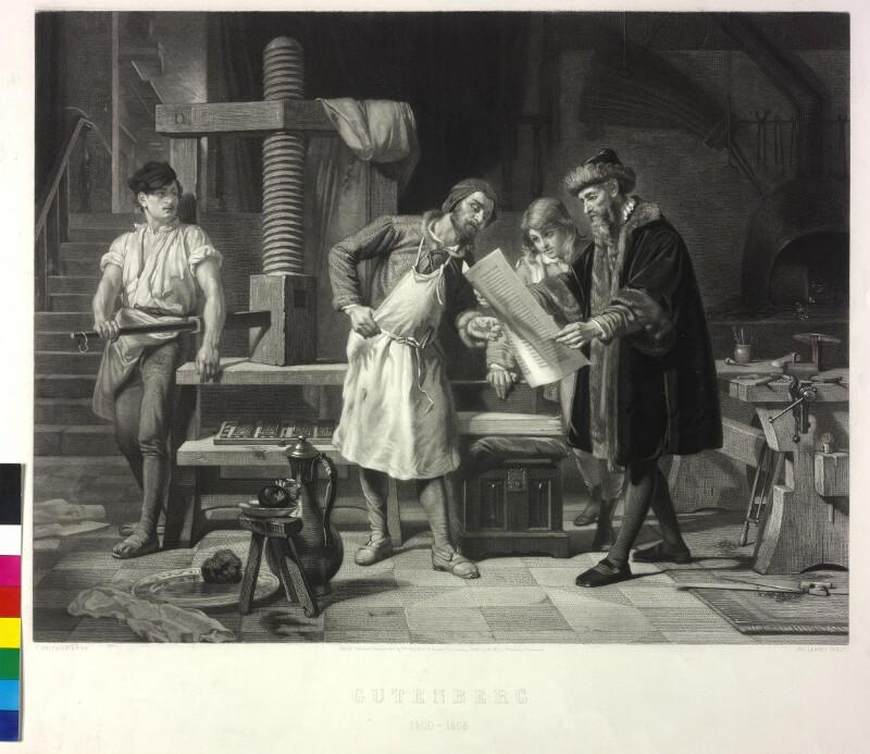 Gutenberg 1400 - 1468