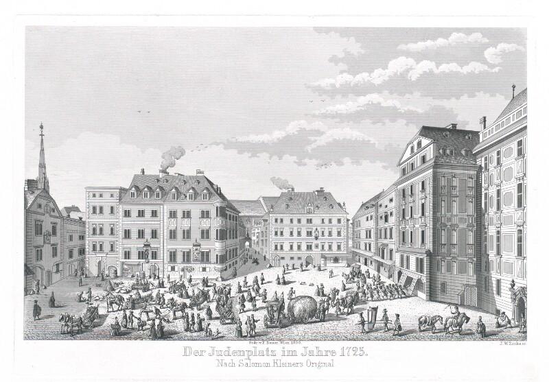 Verlag V A Heck in Wien 1877 Bilder aus Alt Wien 25